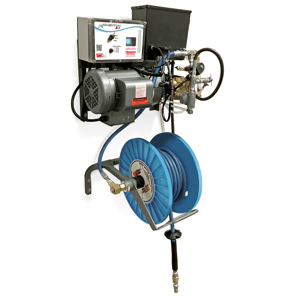 industrial high pressure central wash down system